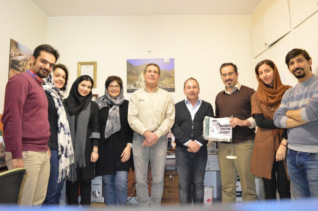 حضور دامپزشکان فرانسوی در انجمن یوزپلنگ ایرانی