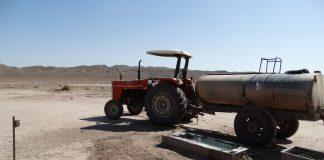 آب برای یوزها در میاندشت