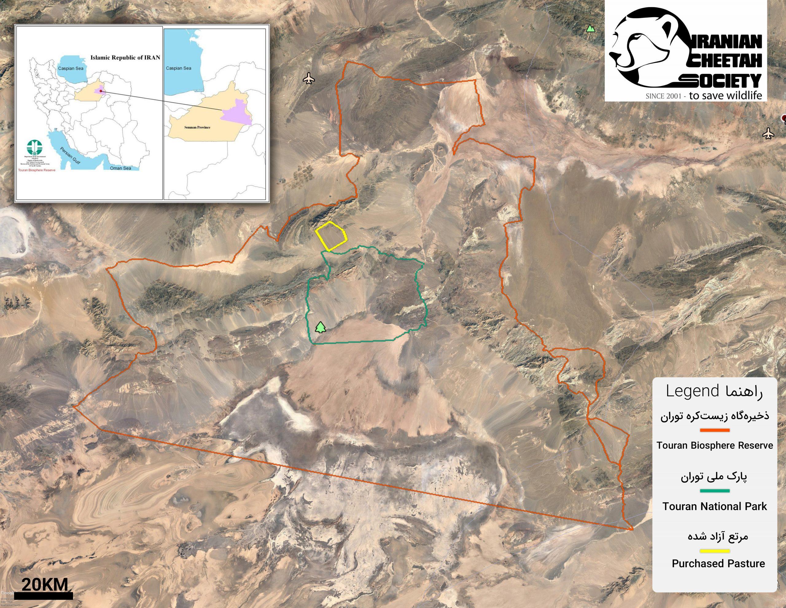 Touran Map
